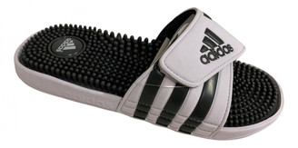 adidas White Rubber Sandals