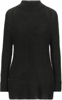 Blauer Turtlenecks