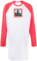 Givenchy Native American oversized baseball top