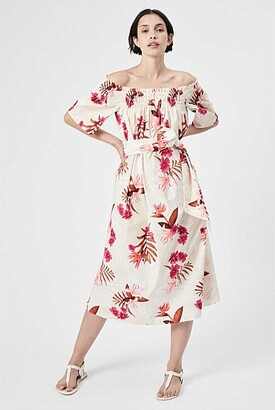 Witchery Off-Shoulder Print Dress