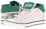 Converse Chuck Taylor All Star Super Hi (Little Kid/Big Kid) (Whitesand/Pine Green) - Footwear