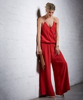Vix Paula Hermanny Solid Red Jumpsuit