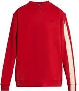 Raf Simons Brushstroke-print oversized cotton sweatshirt