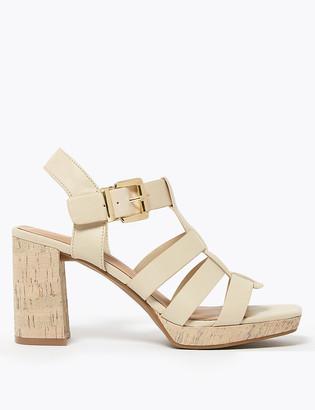 Marks and Spencer Block Heel Platform Sandals