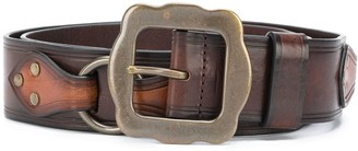 DSQUARED2 Buckle-Fastening Leather Belt