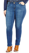 Democracy Plus Medium Wash Straight-Leg Jeans