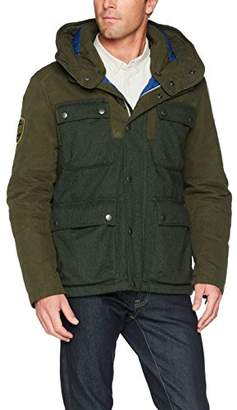 Camel Active Men's 430630/6+71 Jacket, (Green 80), (Size: 52)