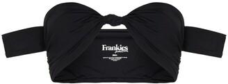 Frankie's Bikinis Monica knot-detail bikini top