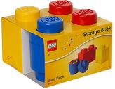 Asstd National Brand 3 Piece Multi Pack Storage Brick Lego Toy Box