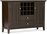 Westminister Sideboard Buffet & Wine Rack, Quick Ship
