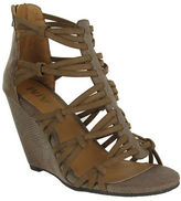 Mia Dylon Strappy Wedge Sandals