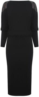 Biba Long Sleeve Heat Seal Dress