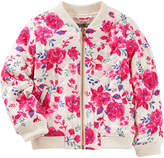 Osh Kosh Oshkosh Girls Lightweight Bomber Jacket - Preschool