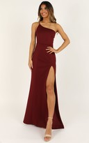 Showpo No Ones Fault Dress in wine - 14 (XL) Dresses
