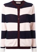 Marni Riga striped cardigan
