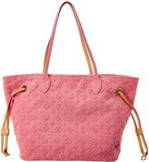 Louis Vuitton Pink Monogram Stone Canvas Neverfull Mm