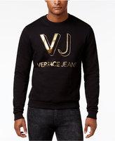 Versace Men's Lightweight Cotton Logo Sweater