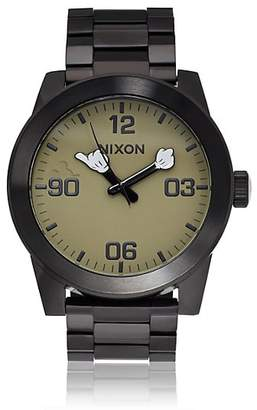 Nixon Men's Corporal SS Watch - Black