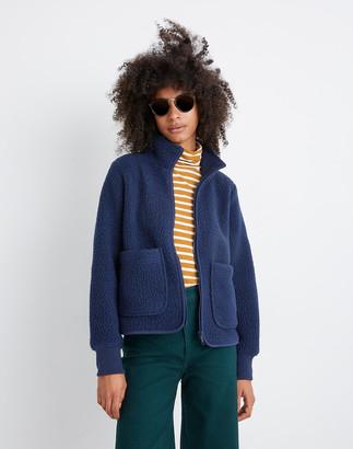 Madewell Polartec Fleece Zip-Up Jacket