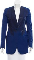 Bottega Veneta Coated Button-Up Blazer