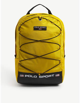 Polo Ralph Lauren Sport logo nylon backpack