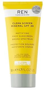 REN Clean Screen Mineral Spf 30 Mattifying Face Sunscreen