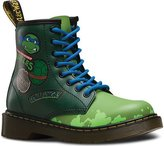 Dr. Martens Kid's Collection Unisex Ninja Turtles Leo (Little Kid/Big Kid) Shoe