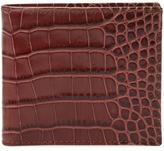 DeSanto Men's Croc Embossed Leather Bifold Wallet