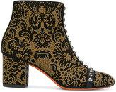 Santoni studded ankle boots