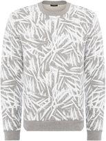 Calvin Klein Men's Kally Leaf Print Sweatshirt