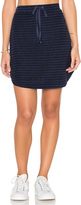 Michael Stars Playa Stripe Drawstring Mini Skirt