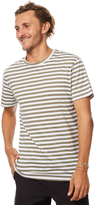 rhythm Everyday Mens Stripe T Shirt Green