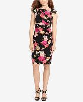 American Living Floral-Print Sheath Dress
