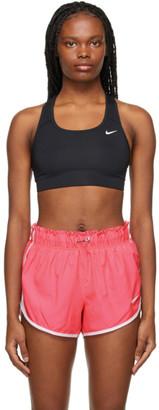 Nike Black Unpadded Swoosh Sports Bra