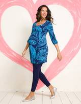 Printed Gathered Tunic