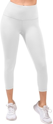 90 Degree By Reflex Missy Interlink High Waist Capri Leggings