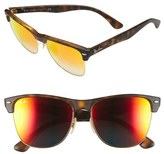 Ray-Ban 'Clubmaster' 57mm Sunglasses (Nordstrom Exclusive)