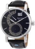 Br.Uno Sohnle 17-13073-781 - Men's Wristwatch, Leather, color: Black