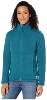 The North Face Crescent Full Zip (Blue Coral Black Heather) Women's Coat