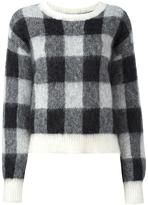 Designers Remix 'Fundy' checked jumper