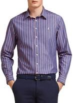 Thomas Pink Avery Stripe Classic Fit Button-Down Shirt
