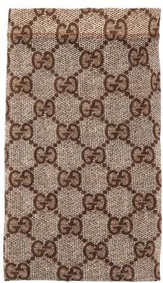 Gucci GG Snake-print Tights - Beige Print