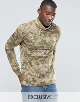 Puma Roll Neck Long Sleeve Top In Floral Print Exclusive To ASOS
