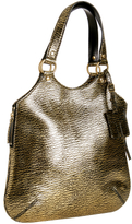 gold textured leather 'Tribute' tote