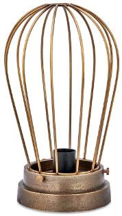 Nkuku Paru Industrial Caged Lamp