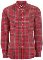 Topman Red Tartan Shirt