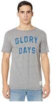 Original Retro Brand The Short Sleeve Vintage Tri-Blend Glory Days Tee (Streaky Grey) Men's Clothing