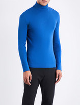 Calvin Klein Turtleneck cotton-knitted jumper