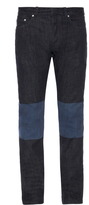 Balenciaga Bi-colour denim skinny jeans