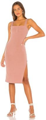 Privacy Please Baldwin Midi Dress
